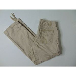 North Face 10 Lightweight Cargo Hiking Pants Beige